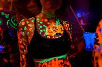 Neon Party, Black Light, Minnesota, Iowa, Clothing Optional