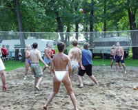 4th of July, Clothing Optional, Campground, Minnesota