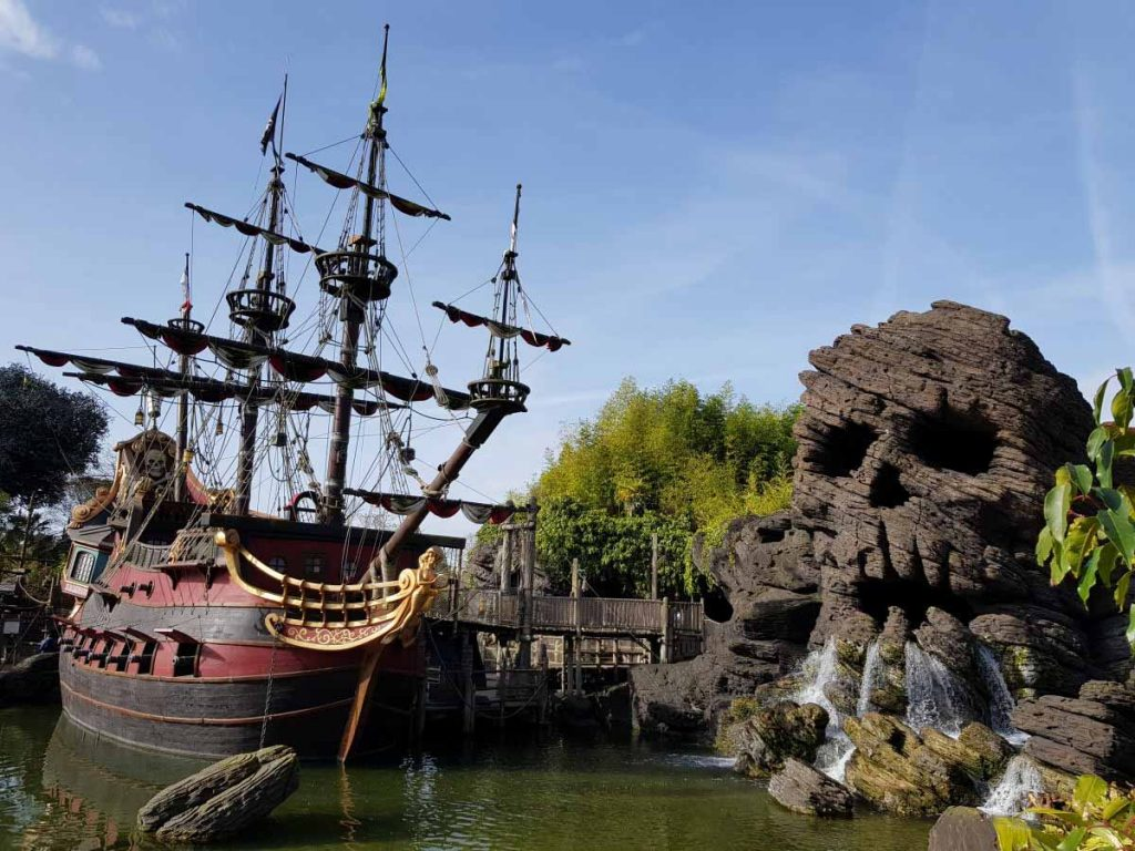 Disneyland Paris pirati