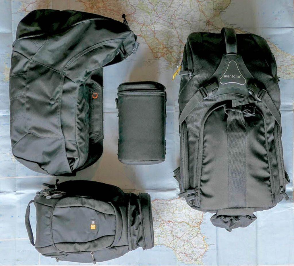 accessori per il trasporto di materiale fotografico borse