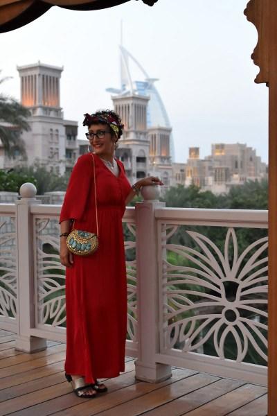 Look Dubai abito per cena elegante
