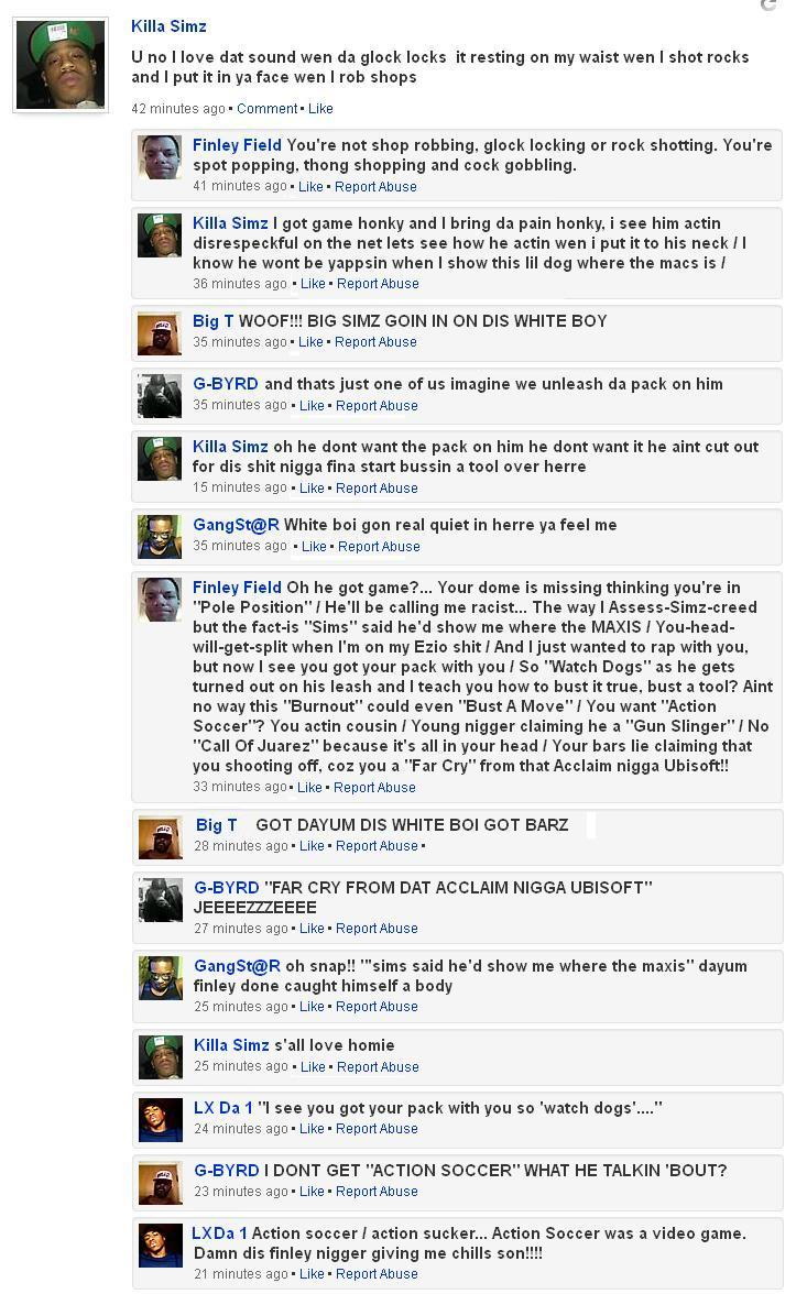 This White Boys Got Bars In Funny Facebook Rap Battle