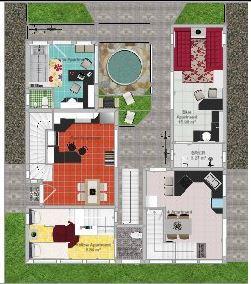 Floor Plan 02 (back lot)