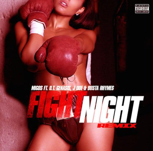 busta rhymes fight night Busta Rhymes, O.T. Genasis & J Doe – Fight Night Freestyle