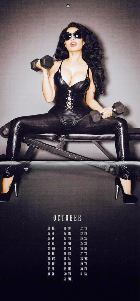 nicki calender 10 Thirst Trap: Nicki Minaj's 2015 Calendar
