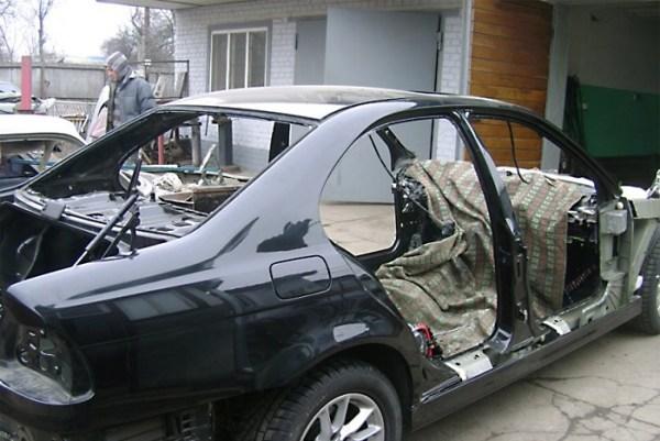 Мужик психанул и сделал 171Волгу187 ГАЗ24 из BMW E39 44