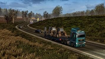Evening driving near Duisberg