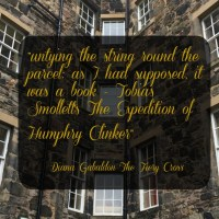 Tobias Smollett - Outlander Connections in Edinburgh
