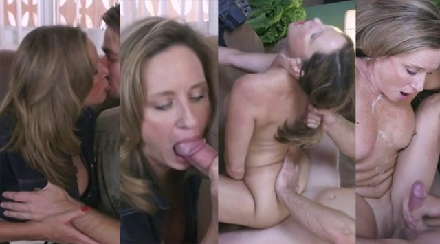 Jodi West Mom Lets Her Jealous Son Fuck Her On The Couch