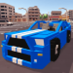Blocky Car Racer 1.23 APK MODs Unlimited Money Hack Download for android