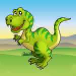 Kids Dino Adventure Game – Free Game for Children 25.0 APK MODs Unlimited Money Hack Download for android