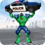 Incredible Monster Robot Hero Crime Shooting Game 2.0.3 APK MODs Unlimited Money Hack Download for android