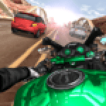 Moto Rider In Traffic 1.1.4 APK MODs Unlimited Money Hack Download for android