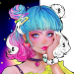 Flora Coloring Color by Number Painting Game 1.0.10 APK MODs Unlimited Money Hack Download for android