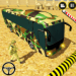 Army Bus Driving 2020 US Military Coach Bus Games 0.1 APK MODs Unlimited Money Hack Download for android