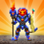 Dunidle 8-Bit AFK Idle RPG Dungeon Crawler Games 1200000070 APK MODs Unlimited Money Hack Download for android