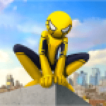 Spider Stickman Rope Vegas Crime City Hero 1.0.25 APK MODs Unlimited Money Hack Download for android