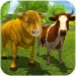 Wild Bull Family Survival Sim 2.3 APK MODs Unlimited Money Hack Download for android
