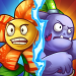 Zombie Defense – Plants War – Merge idle games 0.0.9 APK MODs Unlimited Money Hack Download for android