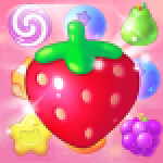 New Tasty Fruits Bomb Puzzle World APK MODs Unlimited Money Hack Download for android
