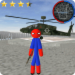 Stickman Spider Rope Hero Gangstar City APK MODs Unlimited Money Hack Download for android