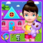 My Baby Doll House – Tea Party Cleaning Game APK MODs Unlimited Money Hack Download for android