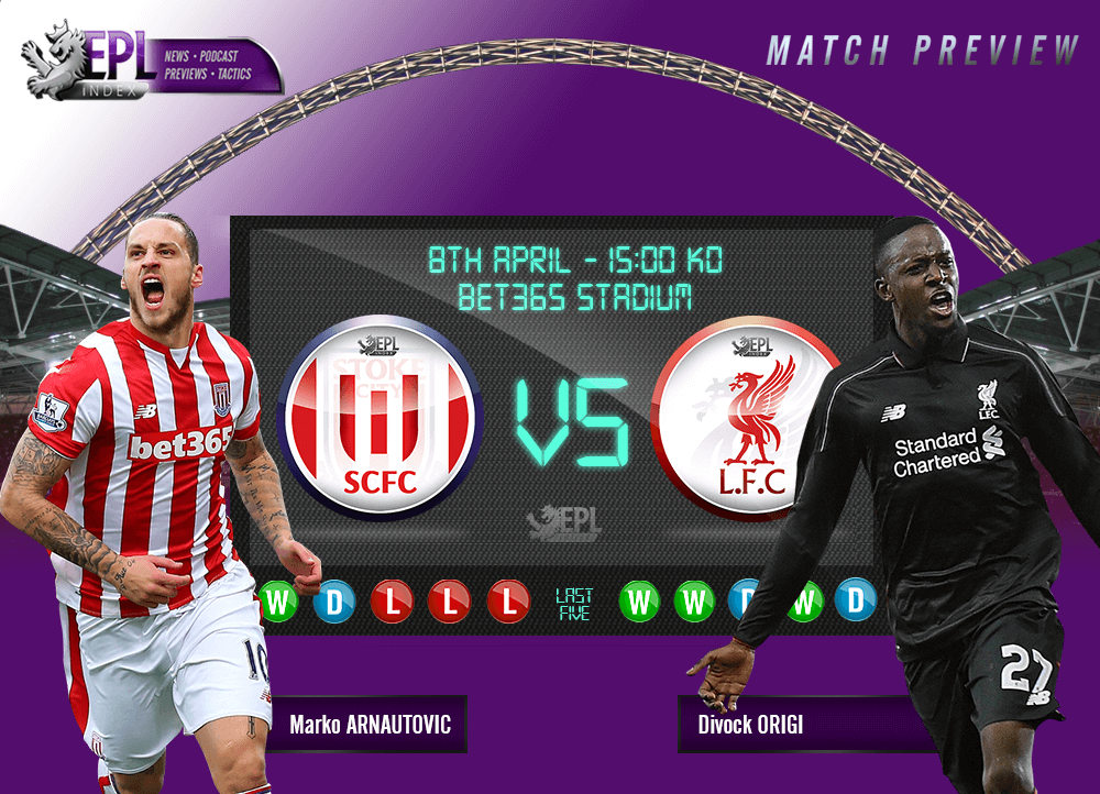 Stoke City vs Liverpool Preview | Team News, Stats & Key Men