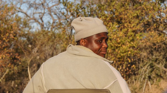 Our Scout at Arathusa Safari Lodge, South Africa