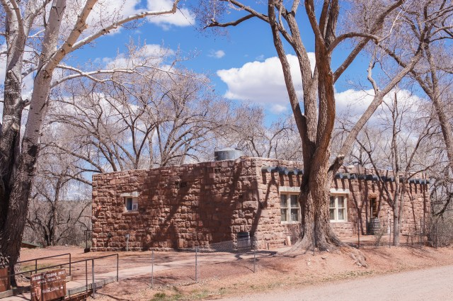 Hubbel trading post on the Navajo reservation in northern Arizona