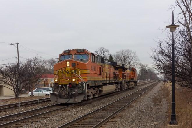 Light power headed west in Riverside, Illinois