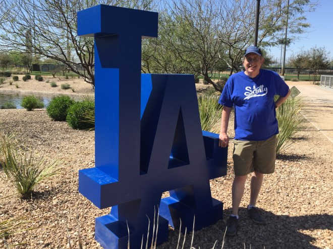 Visiting the best Spring Training venue on the planet: Camelback Ranch where the Los Angeles Dodgers train
