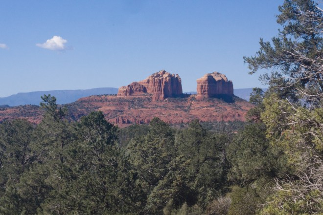 View from Little Horse Trail in Sedona, Arizona