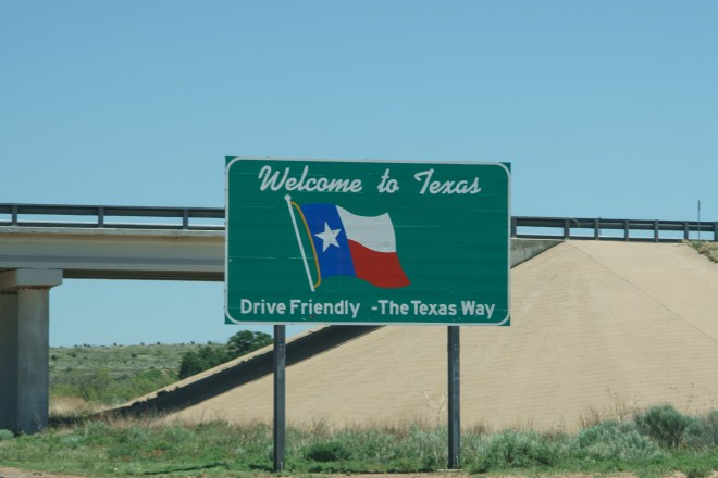 Welcome to Texas !