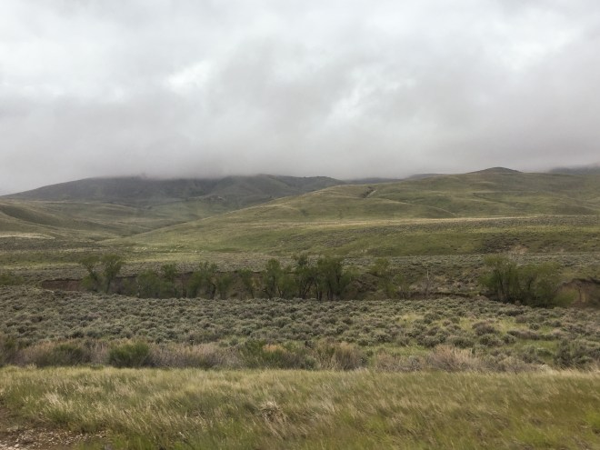 Low clouds in Montana