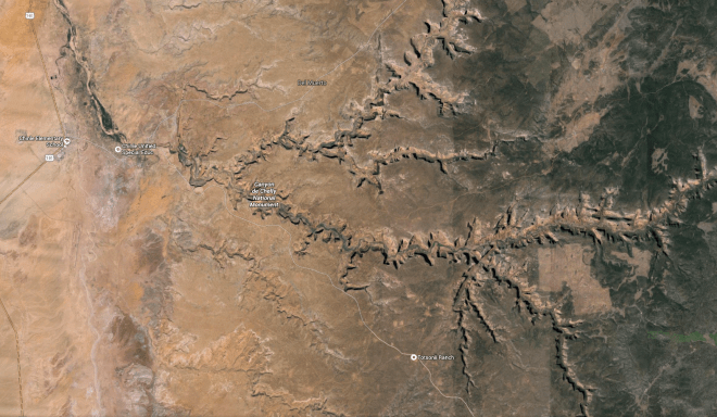 Overview of Canyon De Chelly