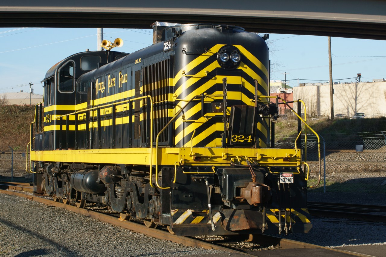 Alco diesel road switcher at the Oregon Rail Heritage Center