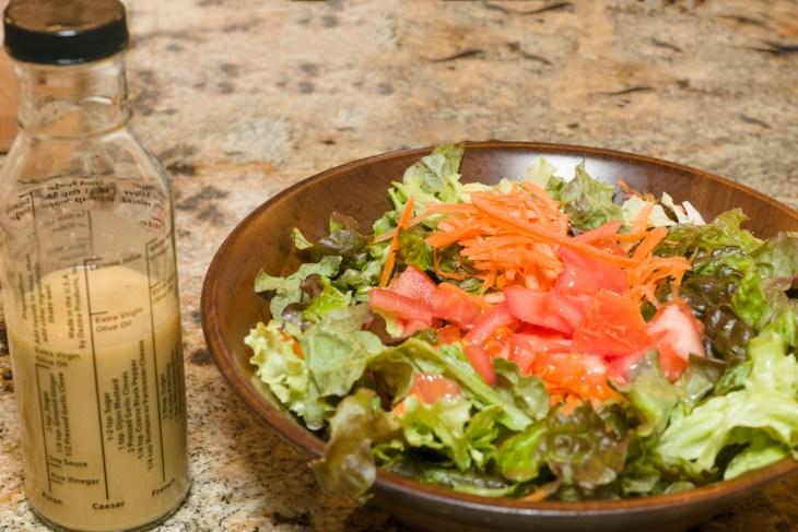 Miso-ginger salad dressing
