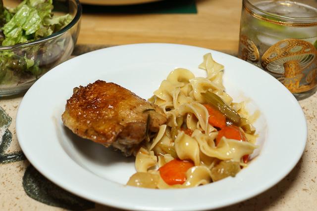 Dinner is served - Easy chicken stew