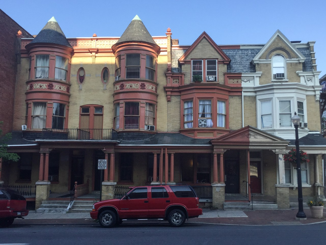 Row houses - Lancaster, PA