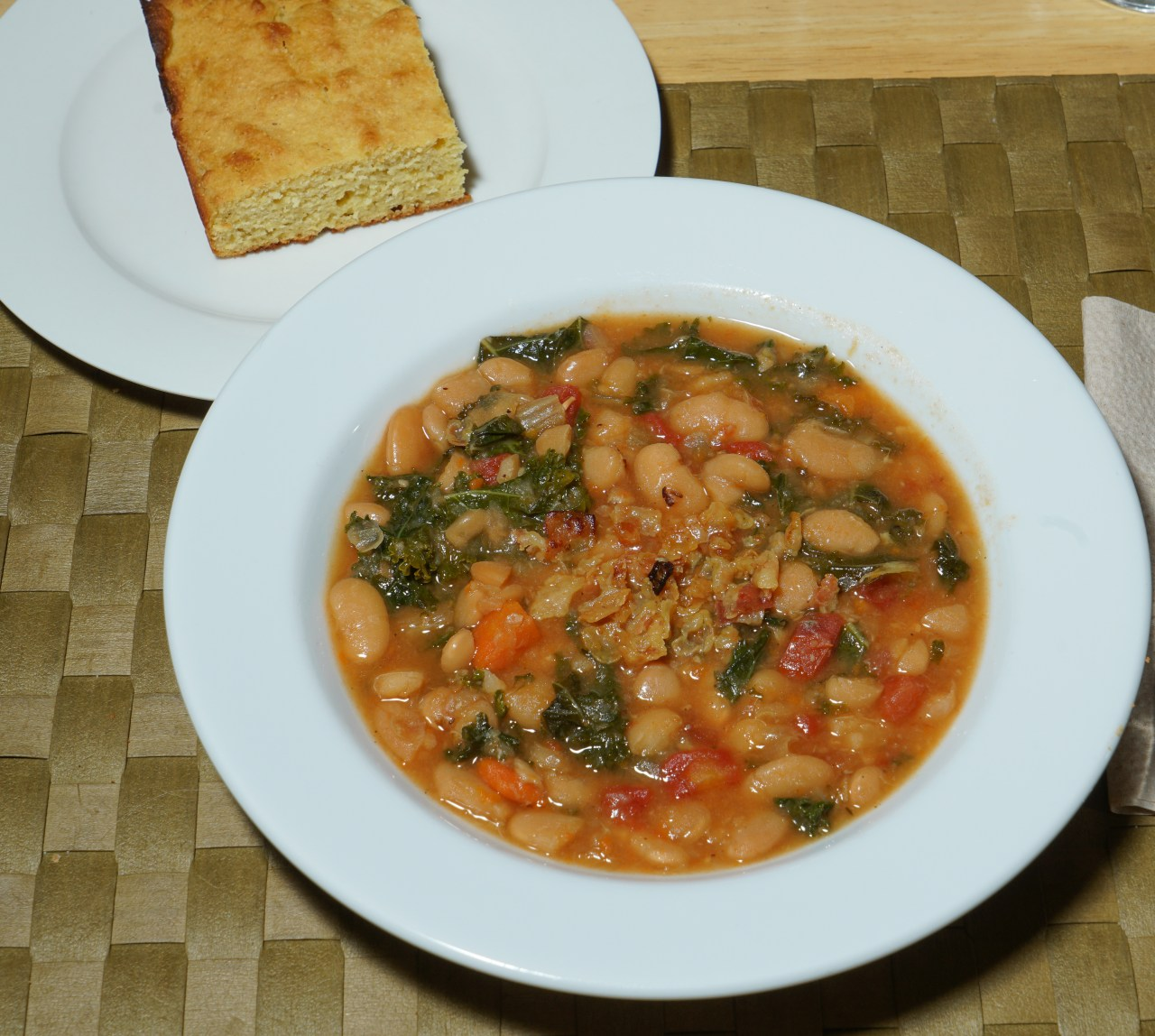 Dinner is served: Tuscan Bean Stew