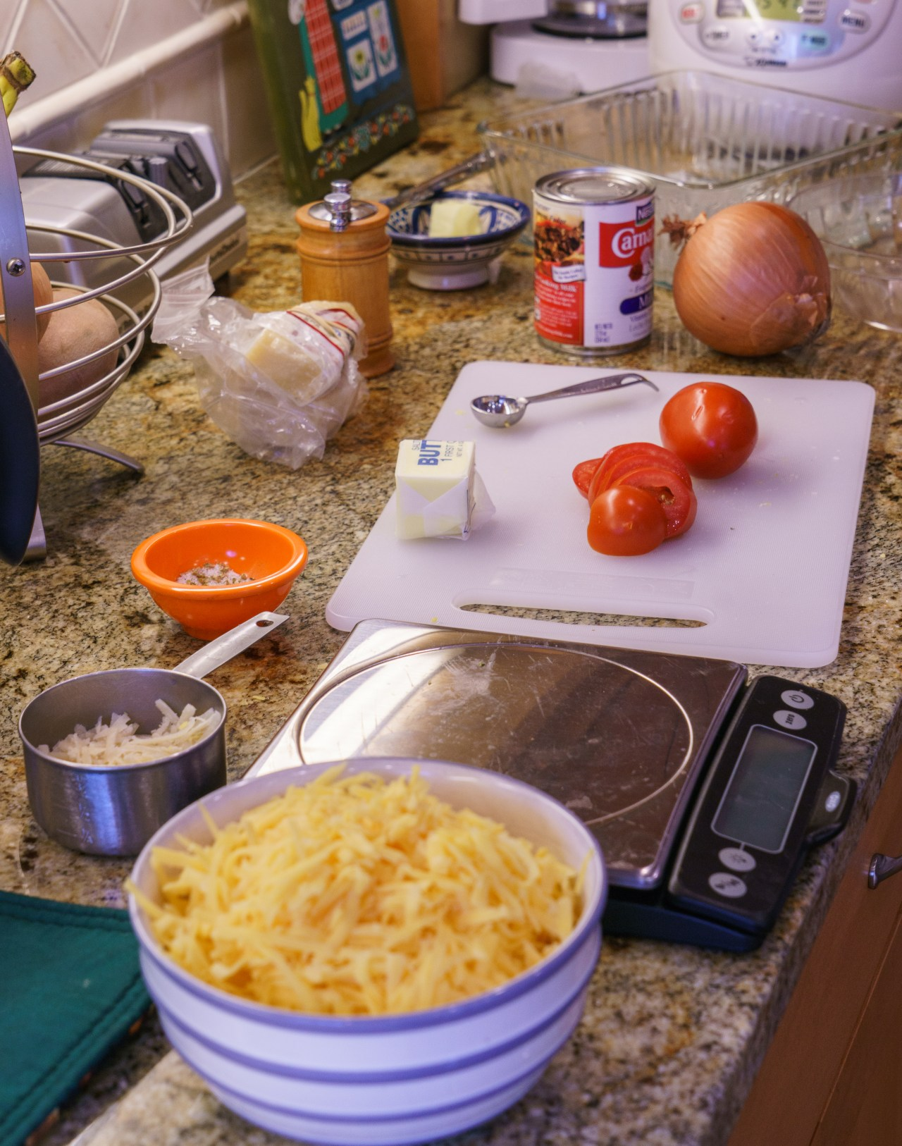 Mac and Cheese Prep
