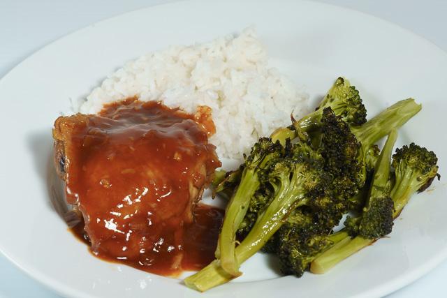 Dinner is served - Korean-style chicken thighs