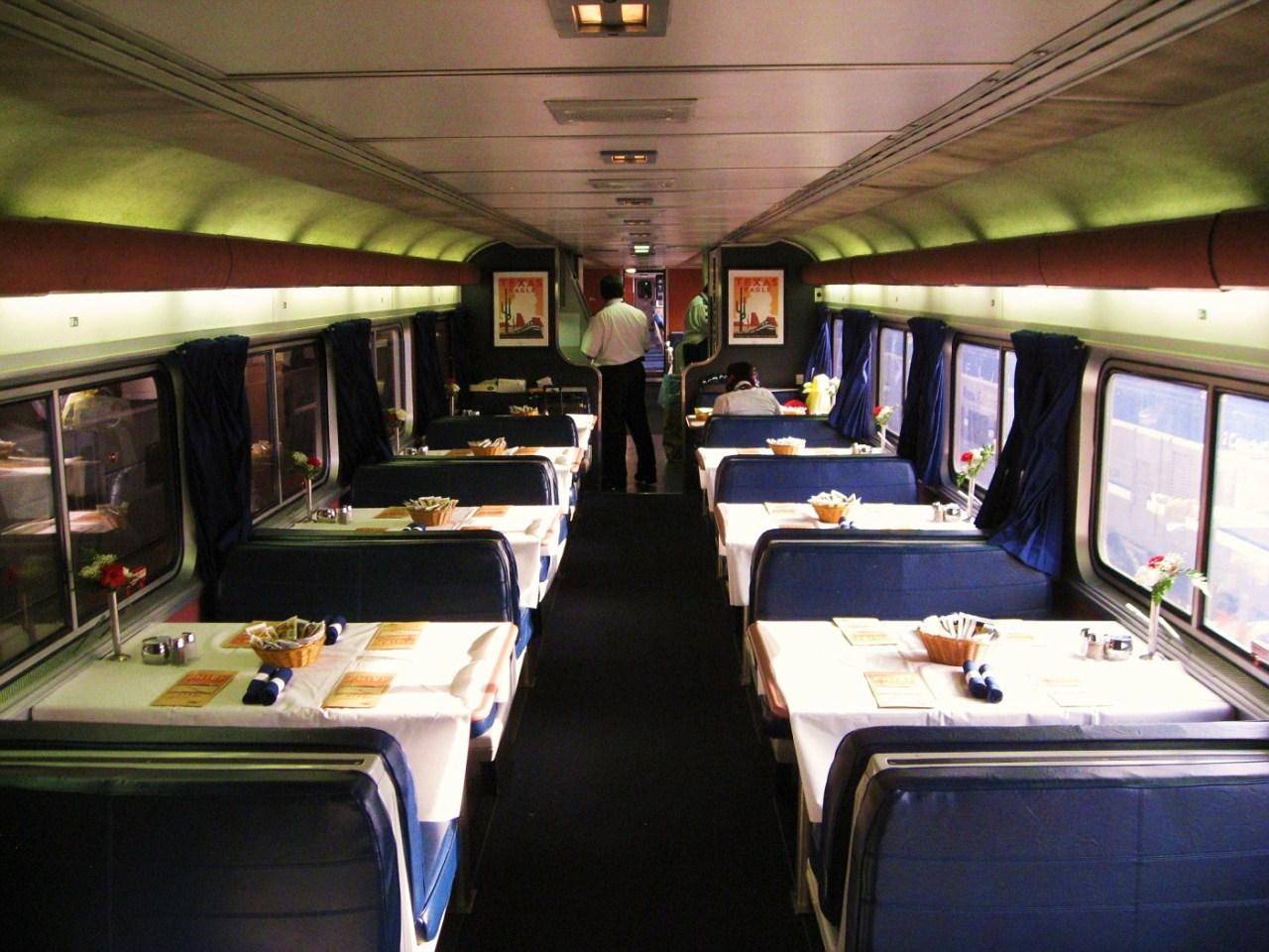 Amtrak SuperLiner Dining Car