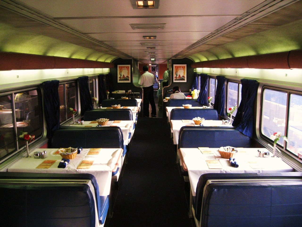 Amtrak SuperLiner Dining Car