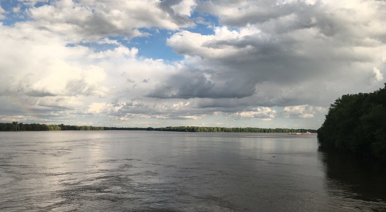 Mississippi River near Burlington, Iowa