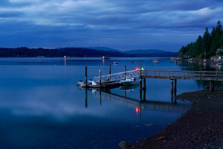 Late evening on Hood Canal