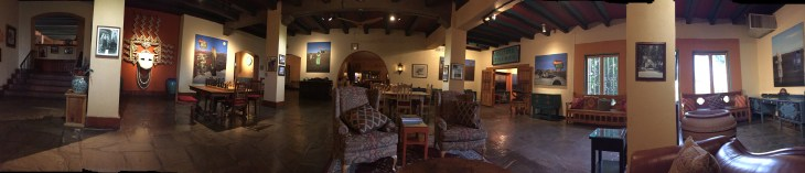 Interior: La Posada Hotel - Winslow, Arizona