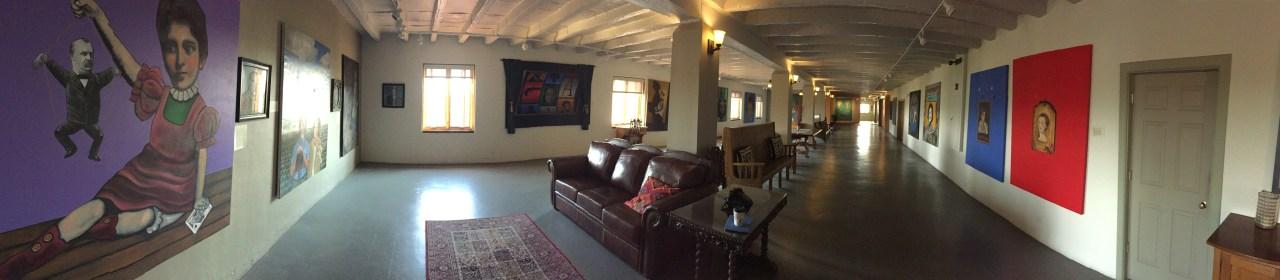 Interior: La Posada Hotel - Winslow, Arizona