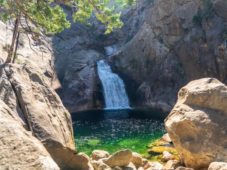 Roaring River Falls. Kings Canyon National Park, California