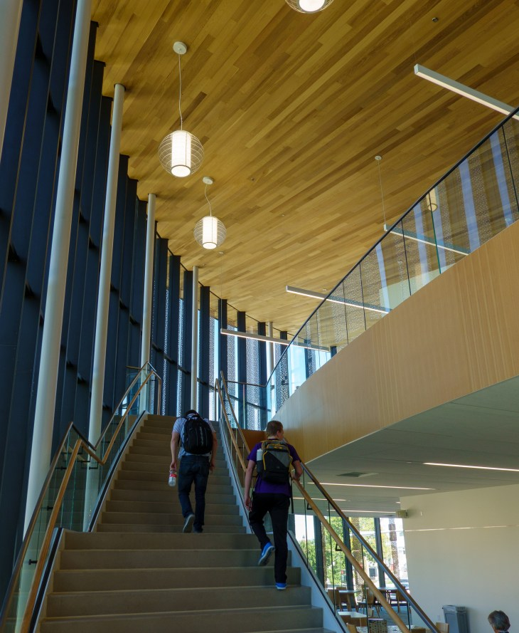 Interior: The Cruzen-Murray Library. College of Idaho